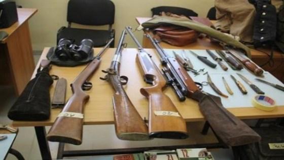 Un fusil de chasse et 3.500 cartouches récupérés à Tébessa