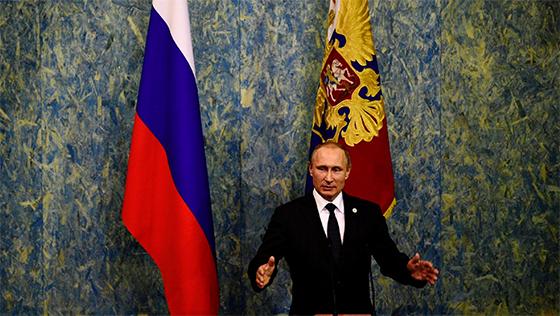 Poutine souhaite un rapide retour à la stabilité en Turquie