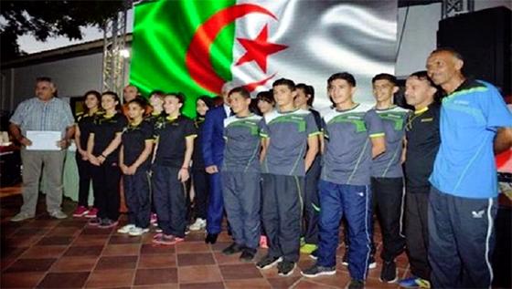 Les athlètes algériens médaillés lors des compétitions internationales