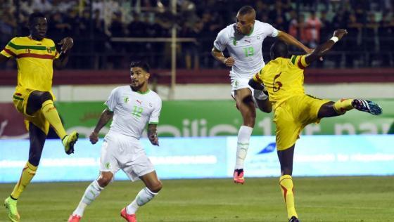 Algérie- Mali: éprouvante victoire des Verts (1-0)