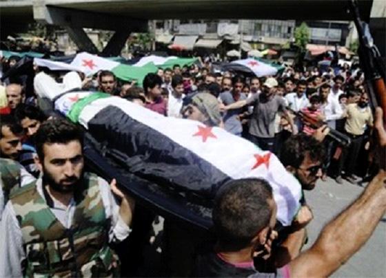 Près de 350 syriens massacrés en une semaine