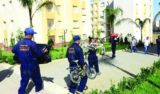 Cinq familles fraudeuses  expulsées des nouveaux logements