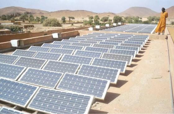 De l'énergie solaire dans les réverbères de l'ENAP