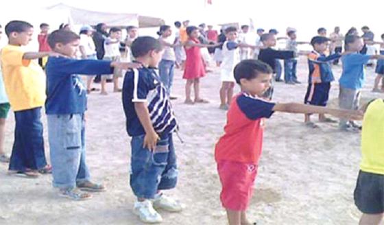 40 000 enfants de l'intérieur du pays en colonie de vacances
