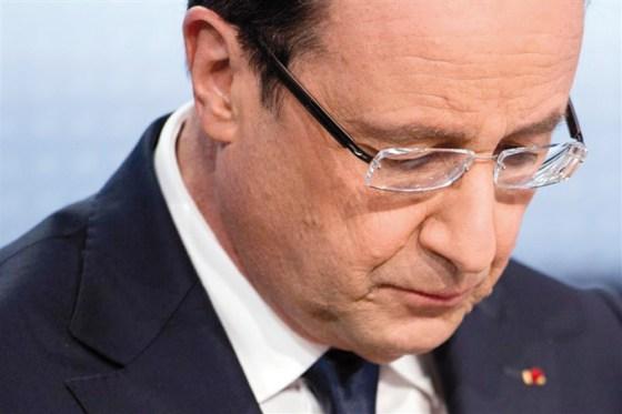 Les français ne veulent plus de Hollande