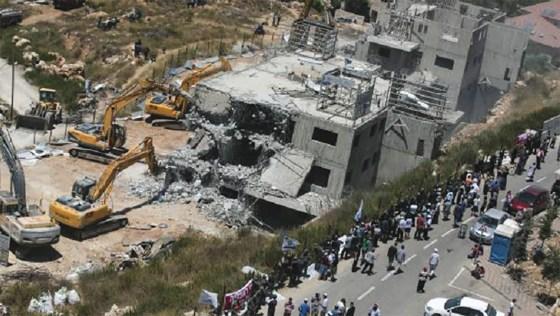 L'entité sioniste accélère les destructions d'installations palestiniennes