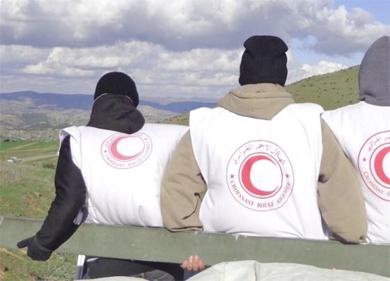 Des jeunes secouristes formés par le Croissant-Rouge algérien honorés