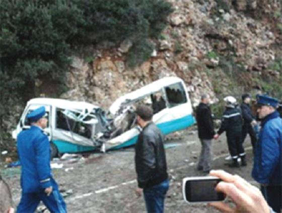 Quarante décès dans des accidents de la route à Béjaïa