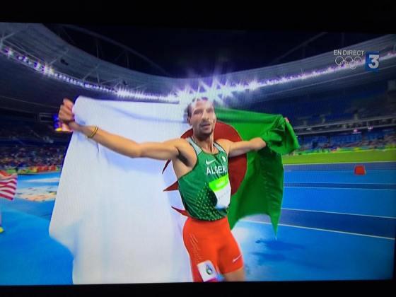 Rio 2016: Médaille d'argent pour Makhloufi aux 800 M