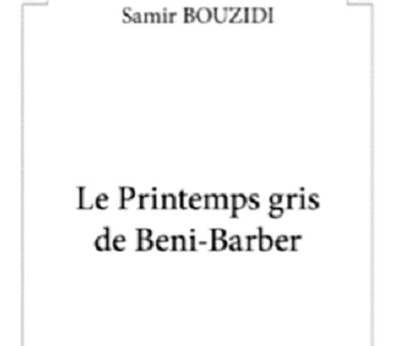 Premier roman de Samir Bouzidi