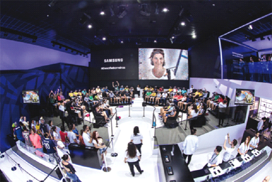 Samsung Electronics repousse la connectivité