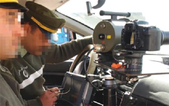 Installation du commandant de la gendarmerie de Tipasa