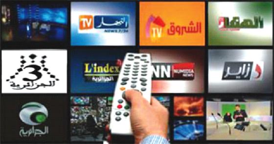 100 millions de DA de redevances pour les chaînes de TV