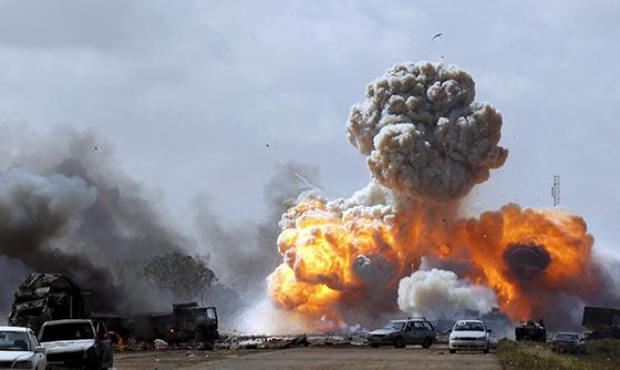 Un meeting prochainement contre l'invasion de la Libye