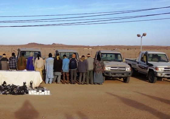 Douze contrebandiers neutralisés à Tamanrasset et In Guezzam
