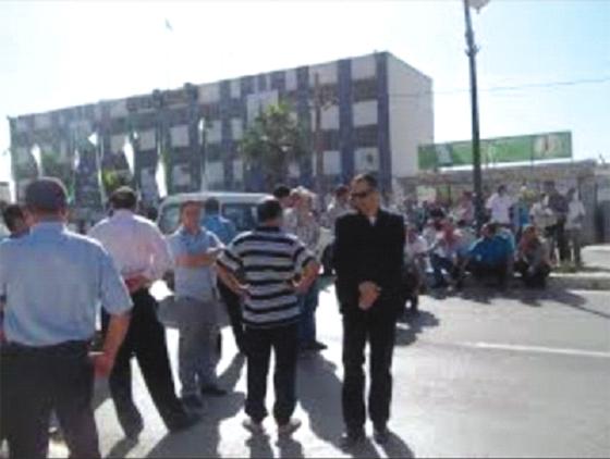 Protestation des citoyens des communes de Béjaïa et d'Amizour