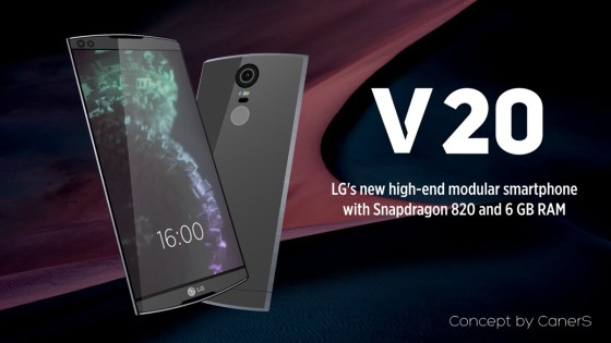LG dévoile son nouveau smartphone, le V20