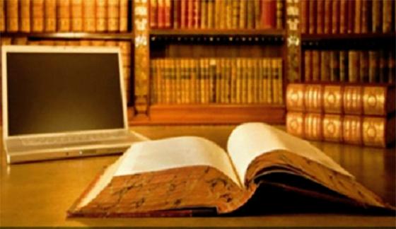 Un dictionnaire et une encyclopédie