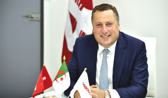 Hendrik Kasteel  installé au poste de DG d'Ooredoo Algérie