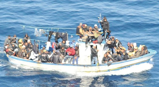 Dix émigrés clandestins interceptés au large de Mostaganem