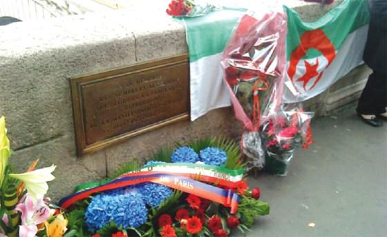 Commémoration en Algérie et  en France