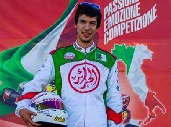 L'Algérien Sofiane Salhi au Rotax Max Challenge