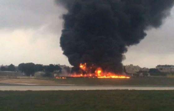 Malte : cinq morts dans l'écrasement d'un petit avion