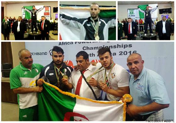 L'Algérie conserve son titre de champion d'Afrique pour la 5e fois