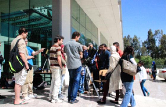 Plus 700 écoliers participent à des séances de planétarium