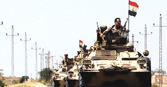 Un contingent égyptien en Syrie aux côtés de l'armée de Bachar?