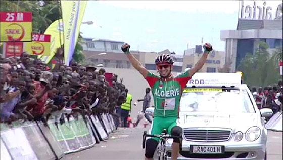 Lagab remporte  la dernière étape, Saidi déchu du  maillot vert