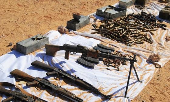 Un lot d'armements et de munitions saisi à Bordj Badji-Mokhtar
