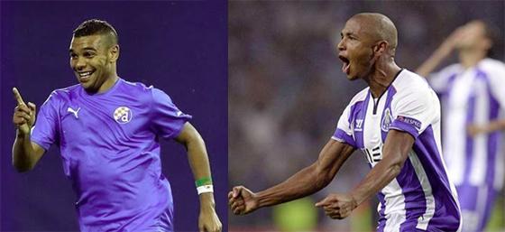 Brahimi (Porto) et Soudani  (Dynamo Zagreb) dans la cour des grands