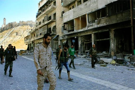 Grande déroute des groupes terroristes dans le Nord de la Syrie