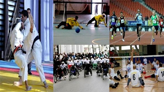 Plusieurs activités sportives pour célébrer la journée mondiale des handicapés