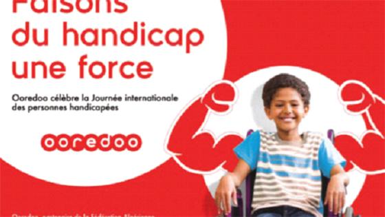 L'engagement d'Ooredoo : Personnes handicapées