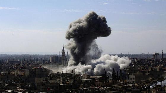Nouvelle agression israélienne contre Damas