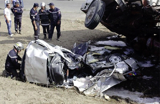 Sensibilisation sur le phénomène du terrorisme routier