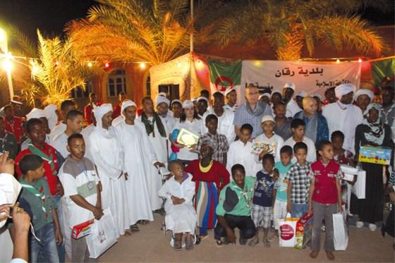 Les gestes de LG Algérie au profit des enfants nécessiteux