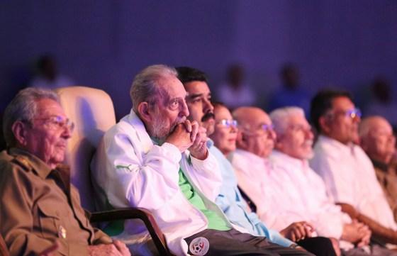 Exposition de photographies à la mémoire de Fidel Castro