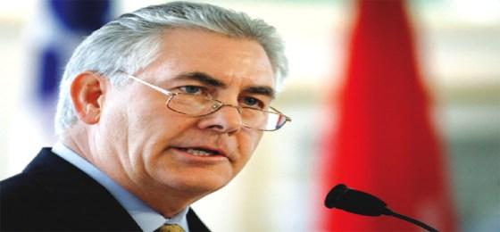 Nomination du PDG d'Exxon Mobil : Quelle incidence sur l'accord d'Alger ?