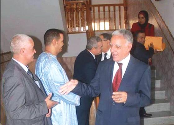 Moussa Ghellaï en visite d'inspection dans la daïra de Gouraya