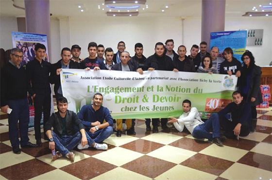 Béjaïa : L'engagement et la notion du droit et devoir chez les jeunes