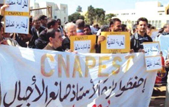 Le CNAPESTE de Blida gèle son mouvement de grève