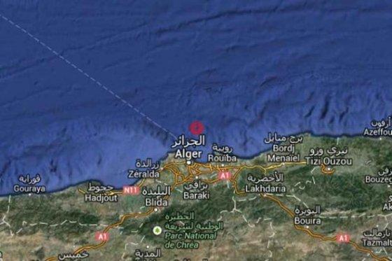 Secousse tellurique de magnitude 3,6 à Alger