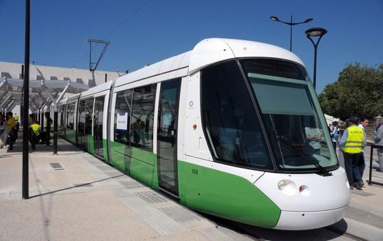 Le premier tramway Citadis livré à Ouargla
