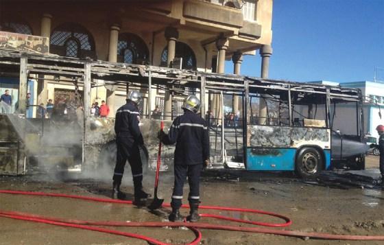 Les affrontements  de retour à Bejaïa