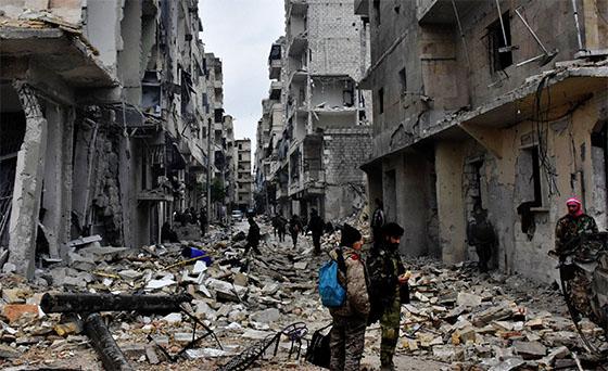 Cavusoglu absout les terroristes et charge le gouvernement syrien