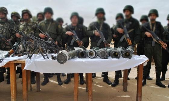 Un armement lourd et des caches détruits à Aïn Defla et Bouira