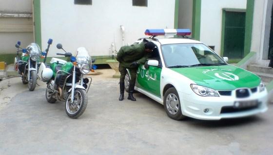 Une voiture volée avec un bébé à son bord